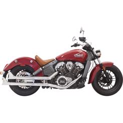 Indian Scout Årg. 2014-2018 Bassani Xhaust Fishtail Slip-on Udstødning
